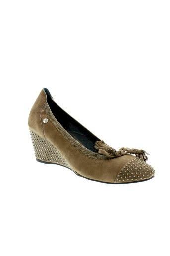 couleur pourpre chaussures femme de couleur marron
