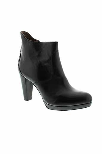 rosemetal chaussures femme de couleur noir