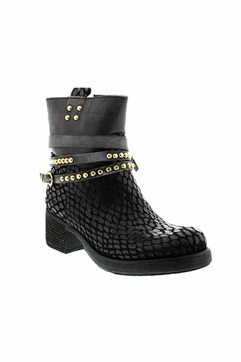 lola et espeleta boots femme de couleur noir