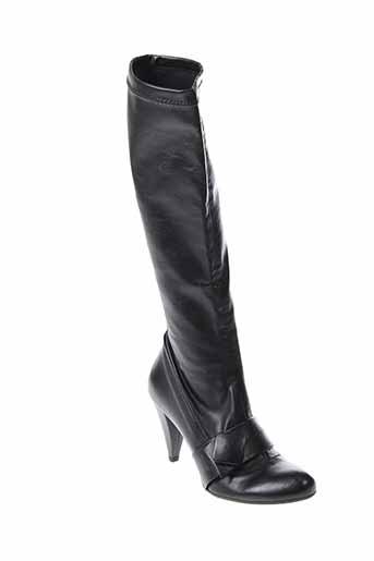 giulia bottes femme de couleur noir