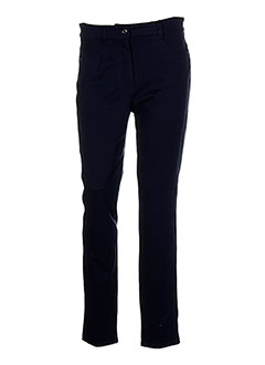 Pantalon casual bleu BIANCA pour femme