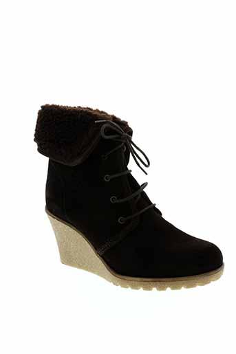 esprit boots femme de couleur marron