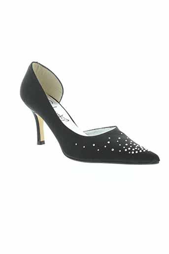 gisbert chaussures femme de couleur noir