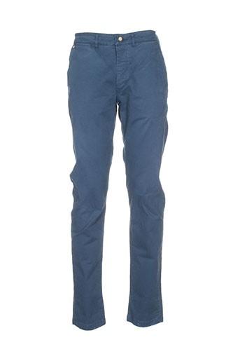 joe et san pantalons et decontractes homme de couleur bleu