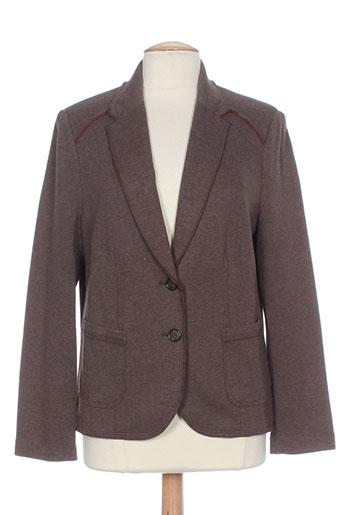 Veste chic / Blazer marron BIANCA pour femme