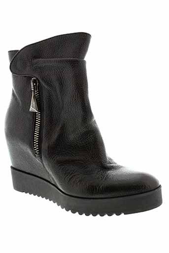 donna et piu boots femme de couleur noir