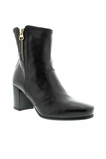 nero et giardini bottines femme de couleur noir