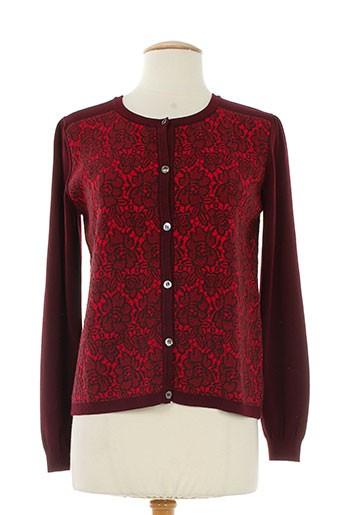 maxmara cardigans femme de couleur rouge