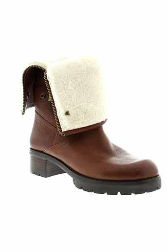what et for bottes femme de couleur marron