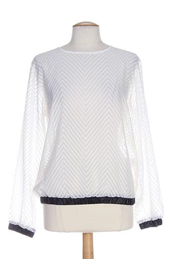 relish chemises femme de couleur blanc