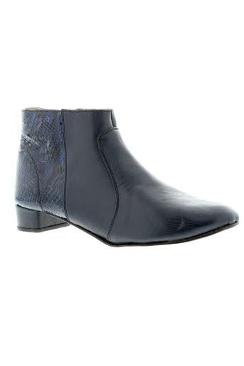 intemporelle et by et francis et larre boots femme de couleur bleu