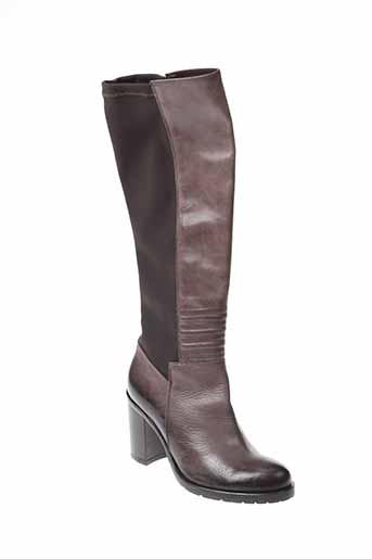 paprika bottes femme de couleur marron