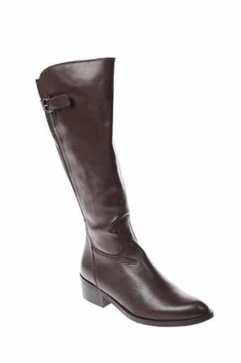 100 et donna bottes femme de couleur marron