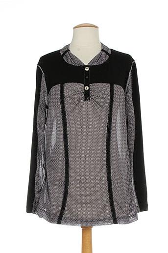 o.k.s chemises femme de couleur noir