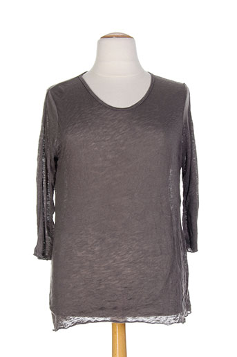 kakie chemises femme de couleur gris