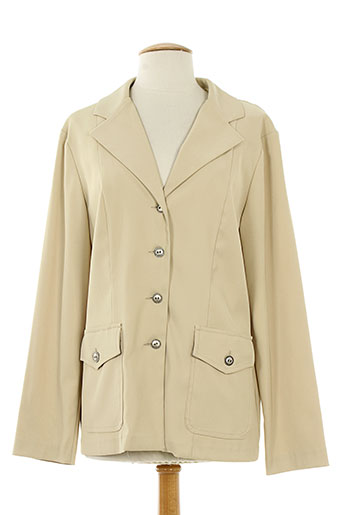 maryvet vestes femme de couleur beige