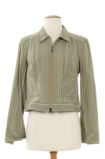Veste casual vert CHRISMAS'S pour femme