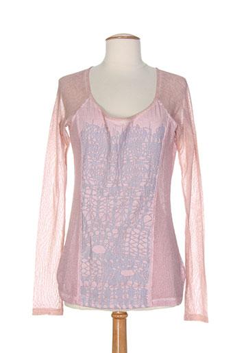 angel never die chemises femme de couleur rose