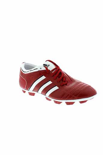 adidas baskets femme de couleur rouge
