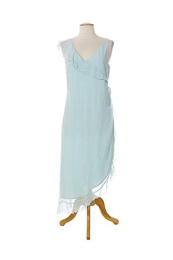 renato nucci robes femme de couleur bleu