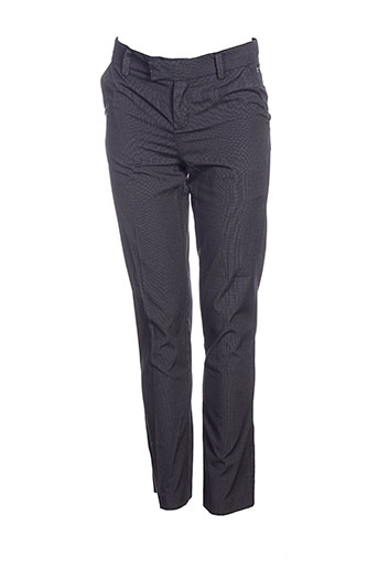 little couture pantalons garçon de couleur noir