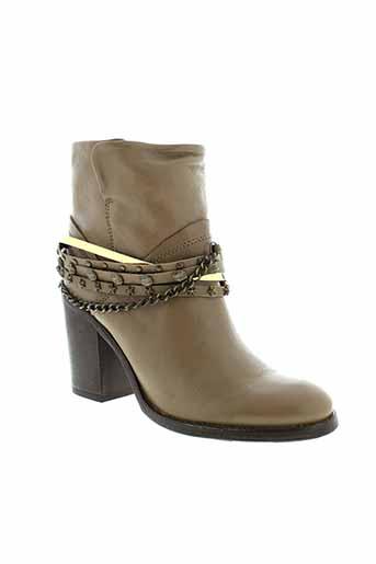 tosca blu shoes chaussures femme de couleur marron