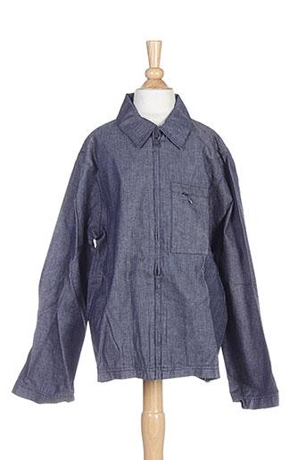 chattawak chemises garçon de couleur bleu