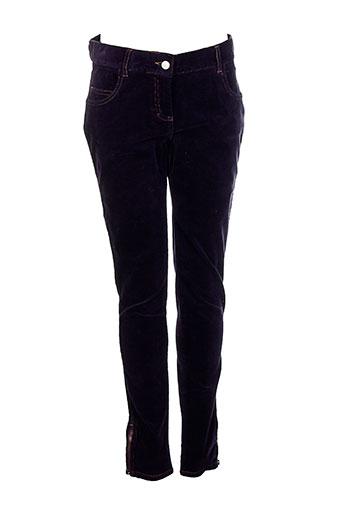 soeur pantalons fille de couleur violet
