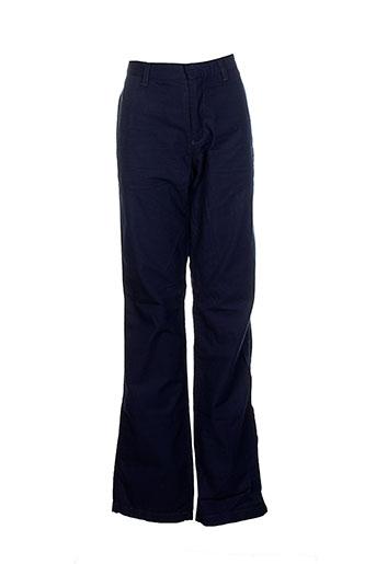 bellerose pantalons garçon de couleur bleu