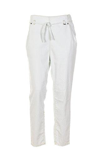 nikita pantalons femme de couleur blanc