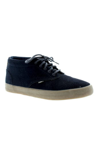 element baskets homme de couleur bleu