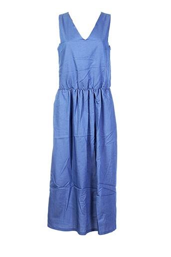 les bonheurs de sophie robes femme de couleur bleu