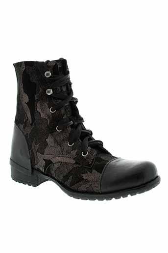 axell boots femme de couleur noir