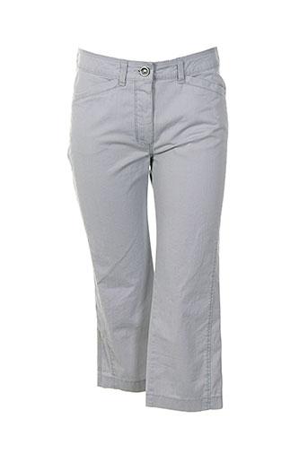 bianca pantacourts femme de couleur gris