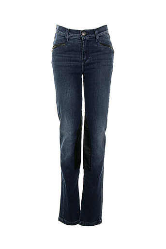 votre nom jeans femme de couleur bleu