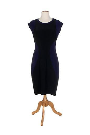 Robe mi-longue bleu ALMA LIBRE pour femme