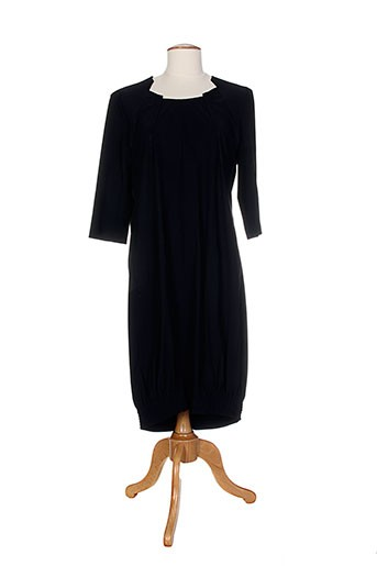 Robe mi-longue noir ALMA LIBRE pour femme