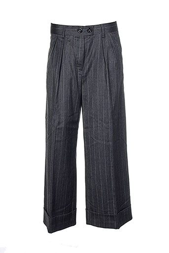 baum und pferdgarten pantalons femme de couleur gris