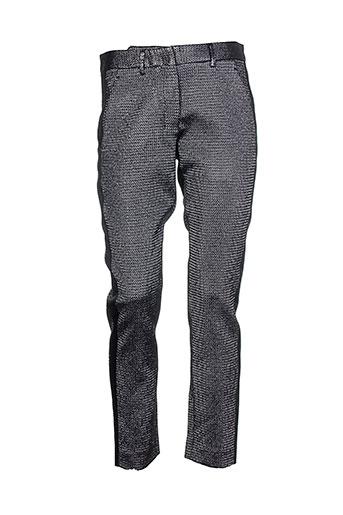 Pantalon chic gris COSTUME NEMUTSO pour femme