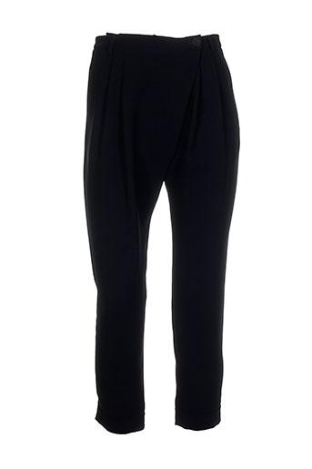 Pantalon chic noir ALMA LIBRE pour femme