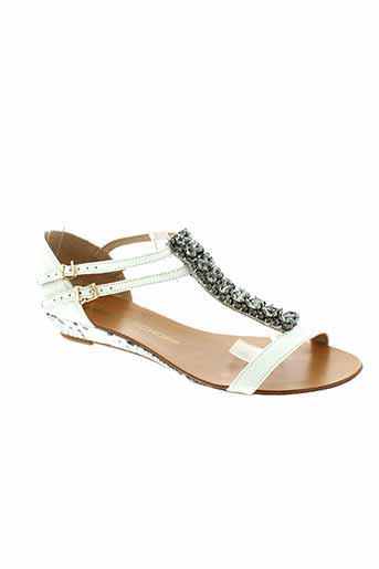 jorge bischoff chaussures femme de couleur blanc