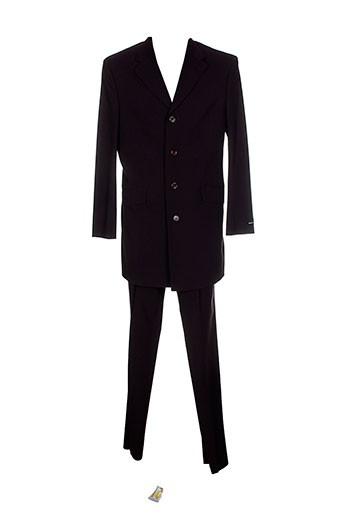 griffe et noire pantalon et veste homme de couleur violet