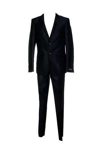 griffe et noire pantalon et veste homme de couleur noir