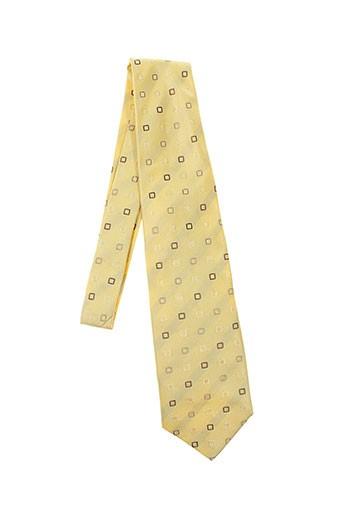 artesie accessoires homme de couleur jaune