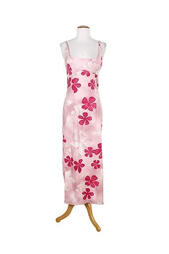 anne elisabeth robes femme de couleur rose