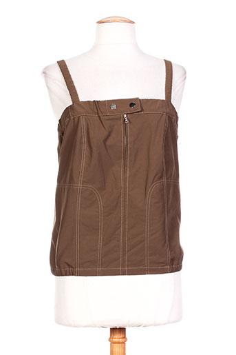 iro chemises femme de couleur marron