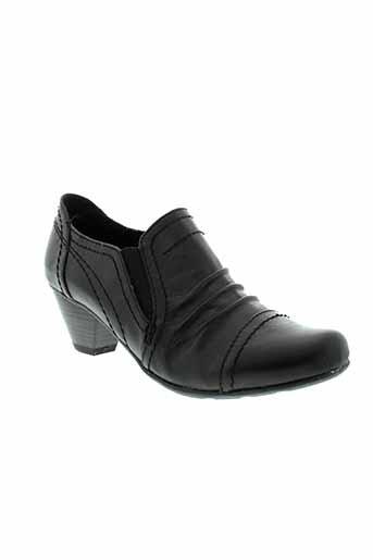 jana boots femme de couleur noir