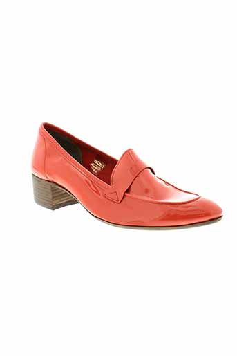 muratti mocassins femme de couleur orange