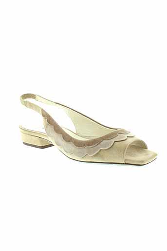 to et be1 sandales et nu et pieds femme de couleur beige