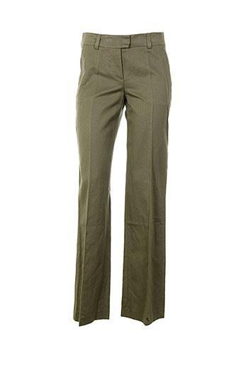 kenzo pantalons femme de couleur vert
